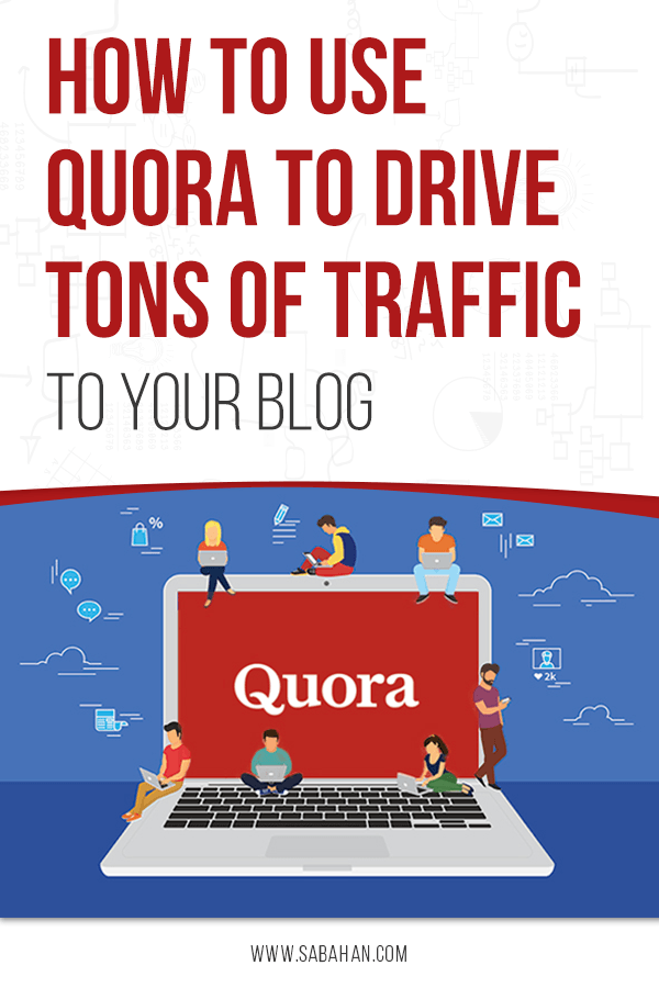 How to use Quora to increase blog traffic and engagement for new blogs. #quora #quoramarketing #howtousequora
