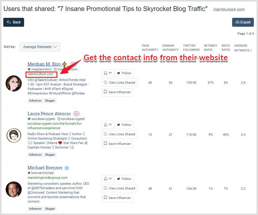 How to use buzzsumo