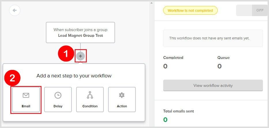 email autoresponder workflow